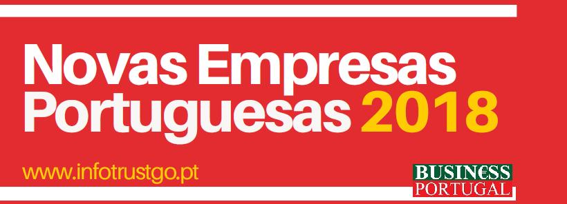 Novas Empresas Portuguesas 2018